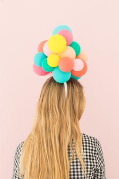 Balloon Hat DIY | Oh Happy Day!