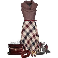 A fashion look from December 2014 featuring Ralph Lauren sweaters, CC skirts and Stuart Weitzman pumps. Browse and shop related looks.