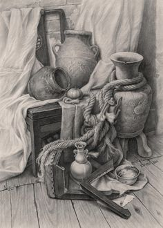 old – Vogel Realistic Pencil Drawings, Pencil Art Drawings, Art Drawings Sketches, Cool Drawings, Charcoal Drawing Tutorial, Academic Drawing, Still Life Drawing, Object Drawing, Perspective Drawing Lessons
