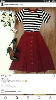 Koreanische mode coreana koreanische mode accessoire coreana koreanische mode smart casual wear for women Cute Fashion, Modest Fashion, Fashion Dresses, Womens Fashion, Apostolic Fashion, Feminine Fashion, Fashion Clothes, Mode Chic, Mode Style