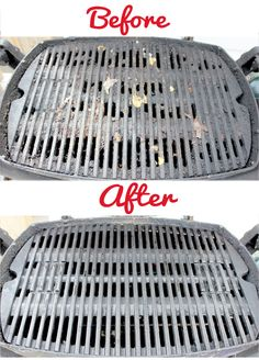 Great method for cleaning a totally gunked-up grill.
