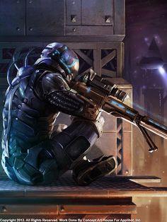 Rifleman  Regular by Concept-Art-House.deviantart.com on @deviantART