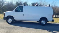 2012 Ford E-250 Econoline Cargo Van. 4.6 V8 gasoline engine, automatic transmission, air conditioning, power windows, power door locks, power mirrors, cruise control with tilt steering wheel, roof racks, rear cage and work shelves, 165K miles. $8500.00 410-292-4646