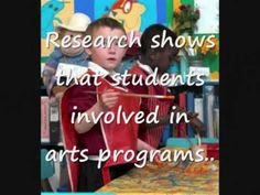 The Importance of Arts Education- in a nut shell.  Have a minute?  You'll be convinced.