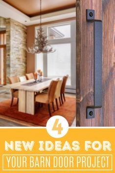 Get some new barn door handles ideas - they can be used for doors, gates, garages, barns, sheds, closets, sliding doors – both exterior and interior.   The design allows them to be used as a luxury, high end addition to your interior home décor as well as to enhance the rustic charm of your massive barn door, gate, shed or garage  Made out of high quality steel, these sliding door pulls will withstand strenuous  #barndoorhandles #gatehandles #barndoorhardwarediy Gate Handles, Barn Door Handles, Diy Barn Door Hardware, Door Pull Handles, Door Pulls, Door Handle Sets, Black Barn, Barns Sheds, Door Gate