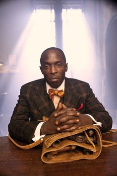 Michael K. Williams as Chalky White on HBO series Boardwalk Empire. Amazing actor.