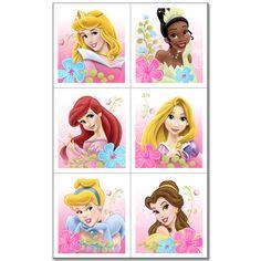 Disney Princess Party Stickers #2
