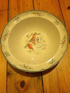 International China MARMALADE Geese Serving Bowl Vegetable Bowl #International