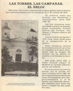 Las Torres, La Campana el Reloj.