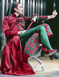 David Tennant as Touchstone in As You Like It