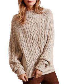 Lauren Ralph Lauren Cable Knit Sweater | bloomingdales.com