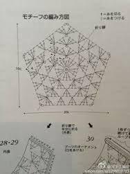 Resultado de imagem para pentagono crochet pattern