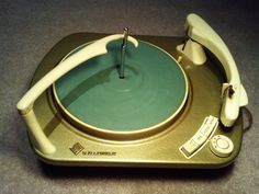 Telefunken TW 560 cabinet turntable with record changer, 1950s