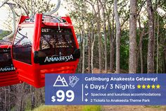 4 days and 3 nights + Anakeesta Tickets