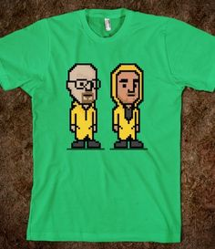 Breaking Bad (Dark) Printed on Skreened T-Shirt Say My Name, Heisenberg, Film Books, 8 Bit, Breaking Bad, Book Series, Fun Ideas, Tv Shows, Cross Stitch
