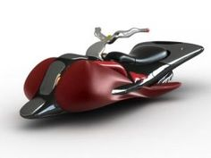 Futuristic fly bike (want)