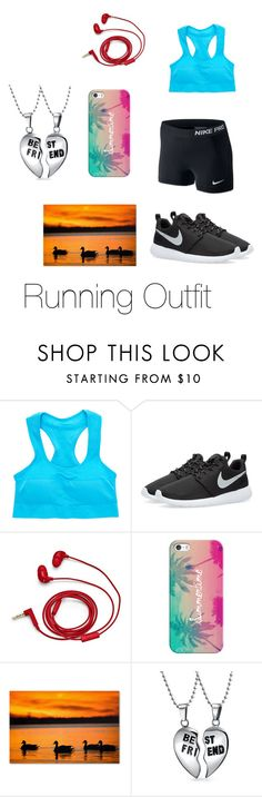 """Run Running"" by mapendo-kalenga on Polyvore featuring NIKE, FOSSIL, Casetify, Trademark Fine Art and Bling Jewelry"
