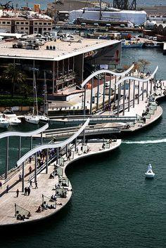 Barcelona... abierta al mar