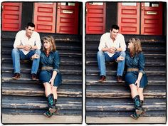 Fort Worth stock yards- steps shot