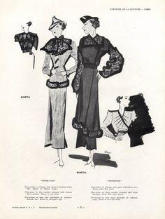 Worth 1934 Bénigni Illustrator:  Léon Bénigni