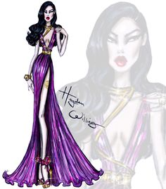 Red Carpet Glam: 'Oriental Opulence' by Hayden Williams. Inspired by tonight's Met Gala theme China: Through the Looking Glass