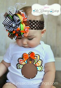 @Kayla Poole  this is the turkey I want for Zoey & her initials in the middle