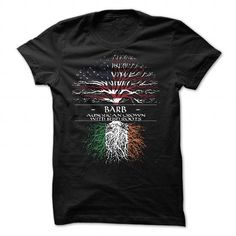 BARB American Crown With Irish Roots - #tee dress #sweater nails. GET YOURS => https://www.sunfrog.com/St-Patricks/BARB-American-Crown-With-Irish-Roots-85424420-Guys.html?68278