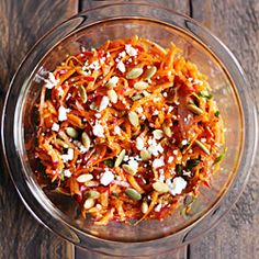 Moroccan Radish and Carrot Salad #healthyaperture