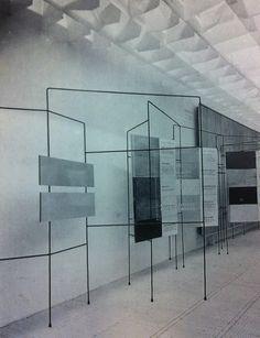 """""""Exposició Indústria i Arquitectura"""". 2ª exposició GRUP R. Galeries Laietanes (1954)"""