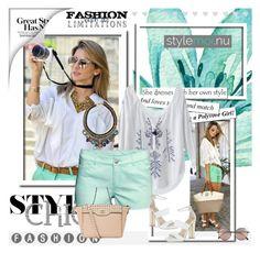 """stylemoi.nu 9"" by melisa-j ❤ liked on Polyvore featuring moda, H&M, Linda Farrow, Carvela e stylemoi"
