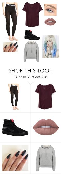"""""""Untitled #73"""" by aiyana-spn on Polyvore featuring Calvin Klein, Aéropostale, Vans, Lime Crime, T By Alexander Wang and Hansen"""