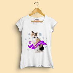 T-Shirt - Eu amo meu gato Tricolor - Cat Club