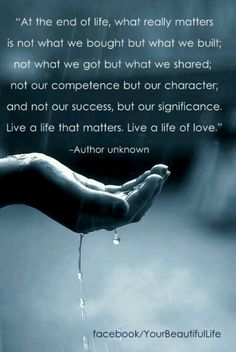 live a life of love. love positive words