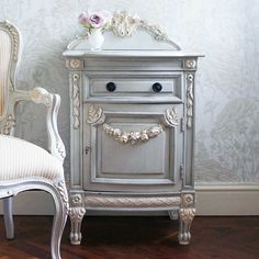 NEW! Bonaparte Bedside Table  |  Bedside Tables  |  Tables  |  French Bedroom Company