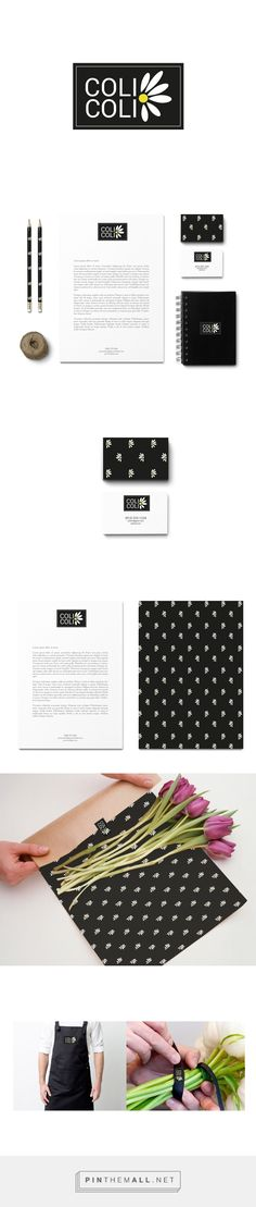 COLI COLI Flower Shop Branding by Stefania Esposito | Fivestar Branding Agency – Design and Branding Agency & Curated Inspiration Gallery
