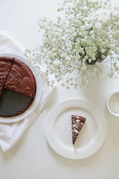 almost flourless chocolate cake / photo by jessica comingore.