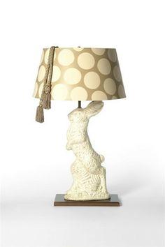 Big Bunny Lamp design by Barbara Cosgrove