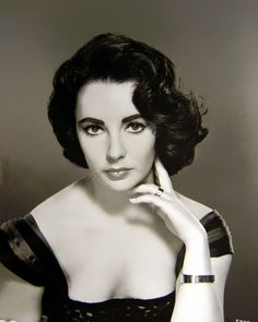 Elizabeth Taylor- Beauty and charm.