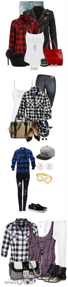 How to Wear Buffalo Plaid | Crafting in the Rain ...See a favorite plaid outfit…