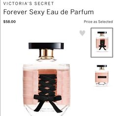 Forever Sexy perfume Never opened. Victoria's Secret Makeup