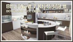 Sims 4 - Big Family Kitchen