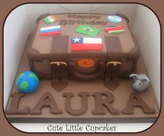 Suitcase Cake | by Cute Little Cupcakes / Heidi Stone