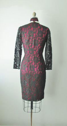 60's Cocktail Dress // Vintage 1960's Black by TheVintageStudio