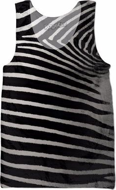 Real Zebra Stripes Tank Top Be a zebra with this zebra print shirt from Bipolar Mom Designs.  Come as a zebra to your next costume party!  https://www.rageon.com/products/real-zebra-stripes-tank-top?aff=HZHK  JOIN ALL aboard