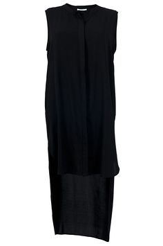 The flowing, long back and high slit on the side makes the Swag Shirt incredibly alluring. Wear it along or with a pair of shorts for relaxed, but sexy, stylish look ideal for any night on the town. Loose fitting with a sleeveless design, you'll stand out in this piece.