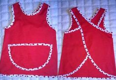 delantal guardapolvo - Buscar con Google Sewing Clothes, Kids And Parenting, Cami, Athletic Tank Tops, Crop Tops, Women, Aprons, Google, Classroom