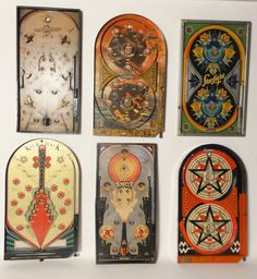 Lost Found Art - Antique And Vintage Pinball Games