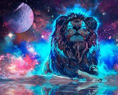 Nebula Galaxy Lion Tapestry Wall Hanging For Living Room Bedroom Dorm Decor & Garden Tier Wallpaper, Wallpaper Space, Animal Wallpaper, Galaxy Wallpaper, Lion Hd Wallpaper, Qhd Wallpaper, Artistic Wallpaper, Wallpaper Designs, Wallpaper Wallpapers