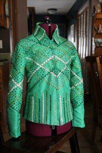 Sittin Pretty Show Clothing on FB!   Custom Western horse show jackets