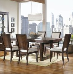 Shadow Ridge Rectangular Trestle Dining Table